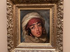 Portrait de jeune fille arabe