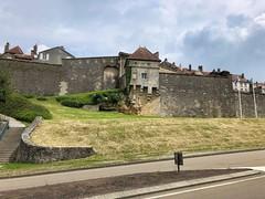 Die Stadtmauern von Langres, Champagne-Ardenne, Frankreich