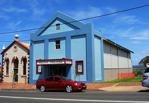Ex Milton Picture Theatre, ex School of Arts, Milton, NSW.