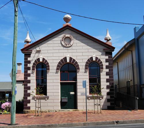 Library, Milton, NSW.