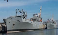 SS Capella (T-AKR 293) , Algol class, Vehicle Cargo Ship; San Francisco