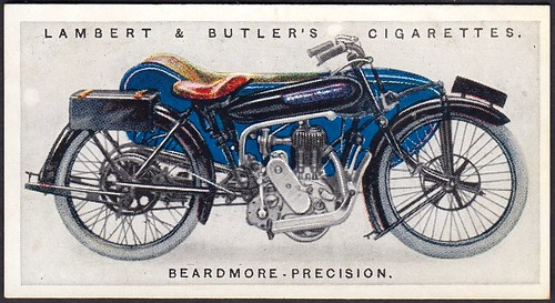 Cigarette Card - Beardmore Precision 1923