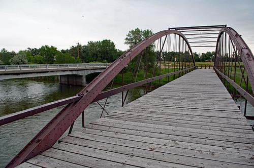 Fort Laramie Iron Bridge