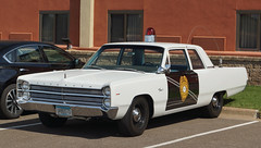 1967 Plymouth Fury I New Mexico State Patrol