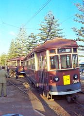 Adelaide Bayline tram derailment of H-class 364(+371), near Brighton Road, 5 October 1987