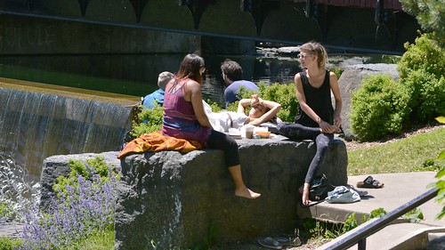 Afternoon in Parc La Fontaine (4)