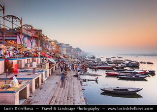 India - Varanasi - Ganges (Ganga) Mother of Rivers