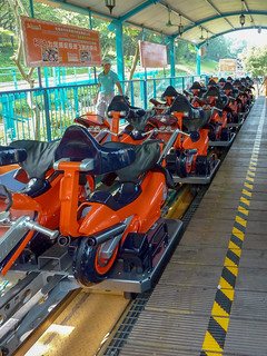 Photo 4 of 5 in the Motorbike Launch Coaster gallery