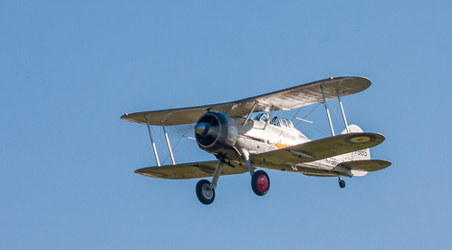 Gloster Gladiator - Shuttleworth Collection 2018
