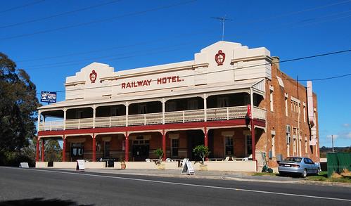 Railway Hotel, Kandos, NSW.