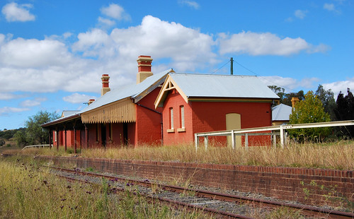 Railway Station, Lue, NSW.