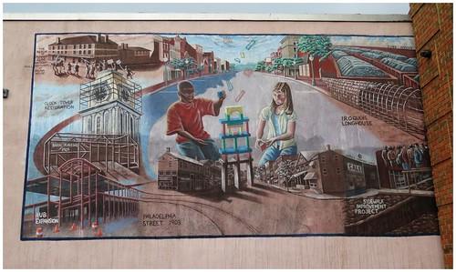 Wall Mural @ Indiana PA