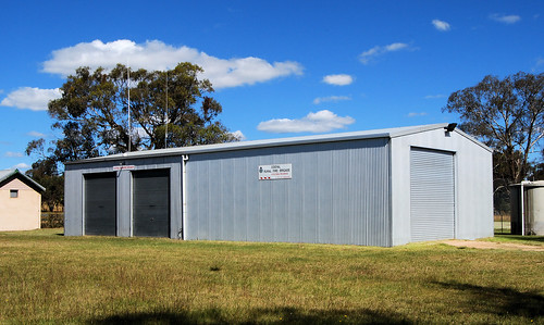Rural Fire Brigade, Cooyal, NSW.