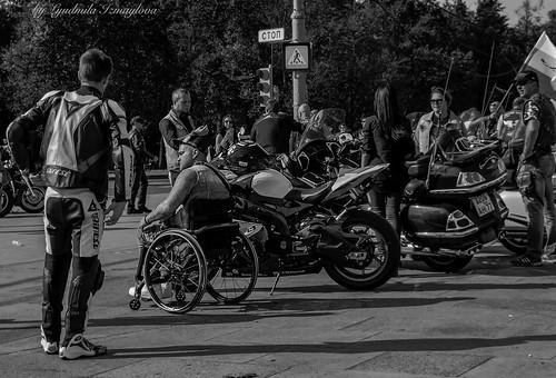 meeting bikers