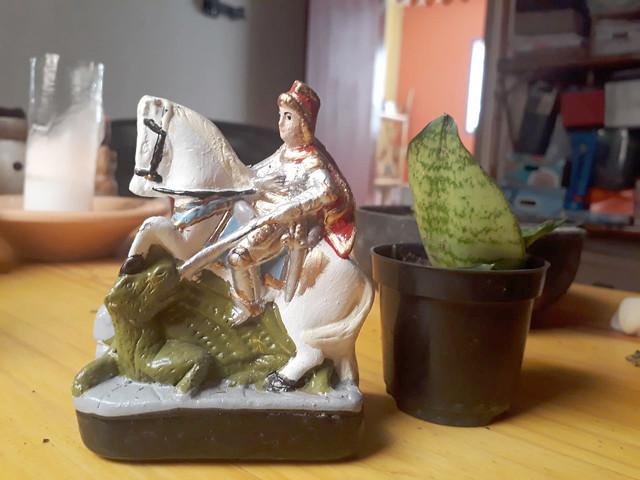 Conta a história que Jorge, nascido em 275, morava na Capadócia, hoje Turquia, e era um alto comandante do exército romano - Créditos: Foto: Rafaella Dotta