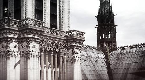 «Et l'on dit que c'est l'âme de Paris qui s'enflamme, quand sonnent les cloches de Notre-Dame» Tim Rice (1996)