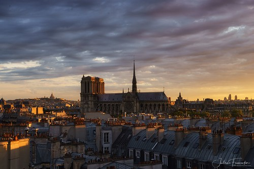 Cathédrale Notre-Dame & Basilique du Sacré-Coeur de Montmartre, Paris