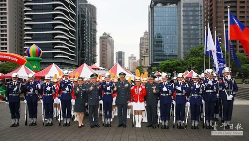 108年國防部第3屆全國高級中等學校儀隊競賽 北部初賽
