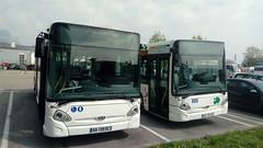 Heuliez GX127 n°6016 et n°7011 du STAC