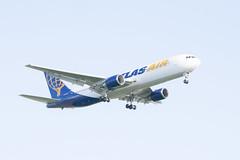 Atlas Air Boeing 767-300ER Lands at IAH, Houston 1904131723