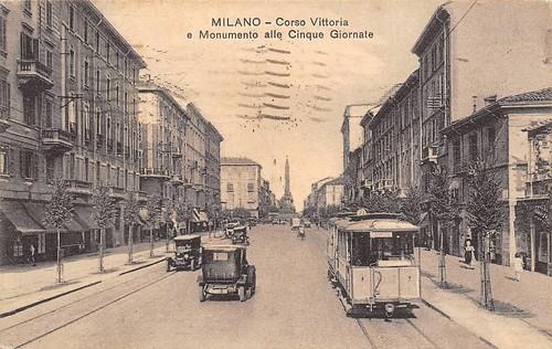 Corso di Porta Vittoria, circa 1928