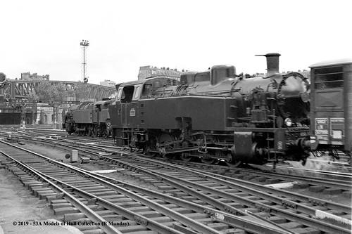 06/06/1954 - Gare du Nord, Paris, France.