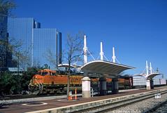BNSF--7285 at Union Station, Dallas