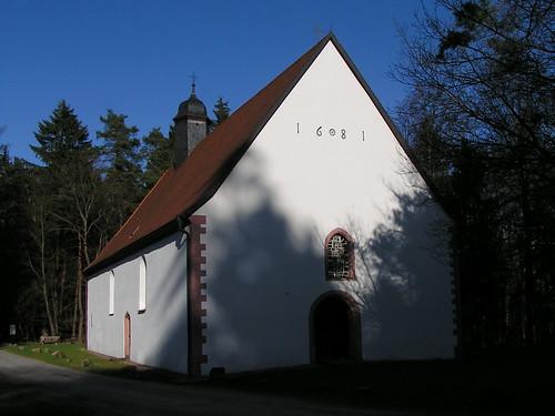 20100417 165 Frammersbach Kreuzkapelle Tür Portal