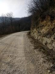 Gravel roads around Vicenza