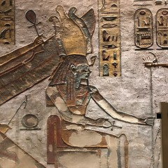 Egyptian Tomb Carving, Luxor