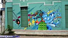 graffiti - Jotapê e Highraff na Cidade baixa