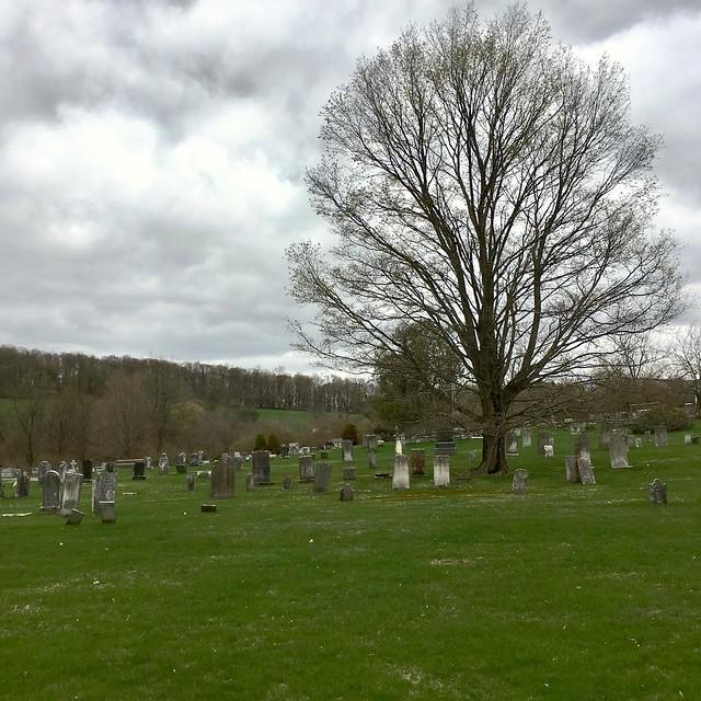 West Copake Church graveyard
