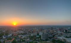 Sunset over San Antonio