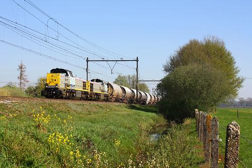 Lineas 7868 + 7866 + dolomiettrein Veendam - Hermalle  - Beilen