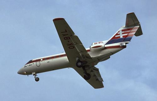 Yak-40 Slovakia