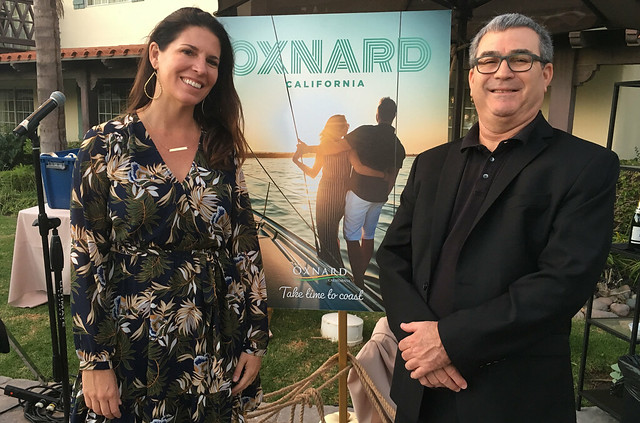 Julie_Philip_Oxnard CVB New Guide Launch Embassy Suites_IMG_3212_10.18.18