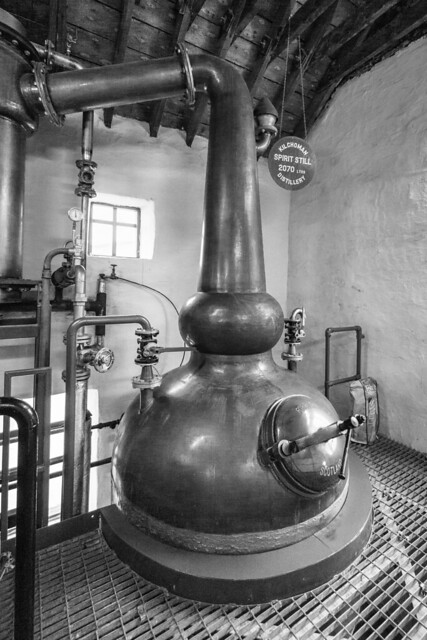 Kilchoman Distillery Spirit Still