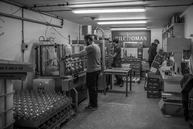 Kilchoman Distillery Hand Bottling