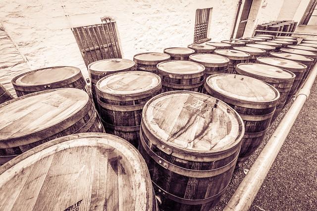 Makers Mark Casks Bowmore Distillery