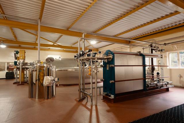 Mash Tun Underback Heat Exchanger Caol Ila Distillery