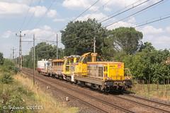 Le train caténaires 817977 St-Jory - Tournay file avec la BB 69278 - Photo of Muret