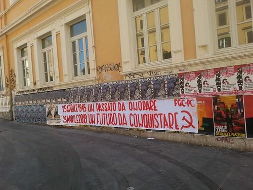 2019 25 aprile San Lorenzo Antifa Piazza Immacolata 29  c