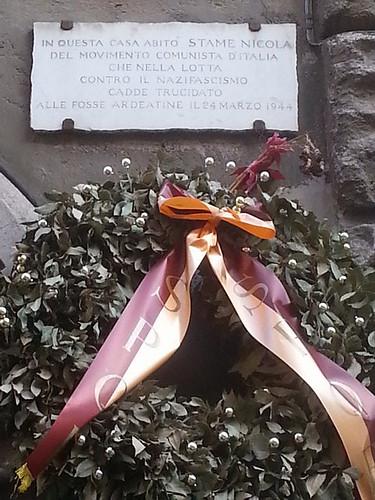 2019 25 aprile San Lorenzo Antifa Via dei Volsci 101 b