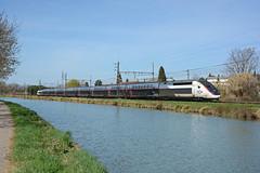 TGV 868 (TGV 8503), Pompignan, 5 March 2019