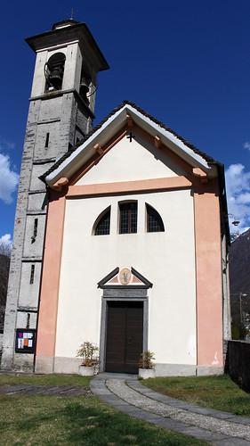 Giumaglio - Pfarrkirche Santa Maria Assunta