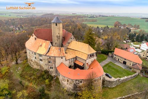 Burg Schönfels in Sachsen