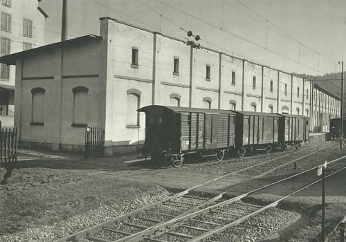 Privatgüterstation «Manegg» der Sihltalbahn