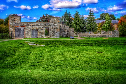 Lindsay Ontario  ~ Canada ~ Lindsay Old Mill Ruins ~ Historic Park