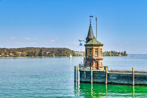 Bodensee / Lake Constance 19. April 2019 - Konstanz