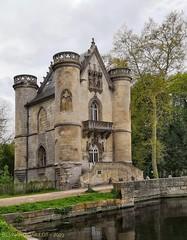 Château de la Reine Blanche, Coye  la Forêt, Oise